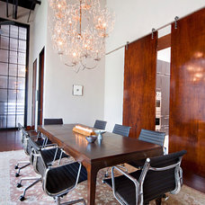 Contemporary Dining Room by Studios 1019