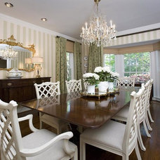 Traditional Dining Room by Laura Medley Interiors