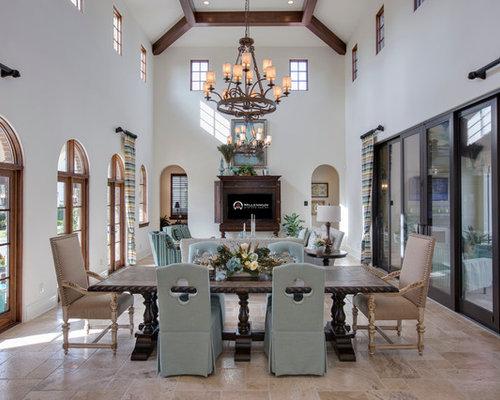 Mediterranean Dining Room Chair Home Design Ideas Photos
