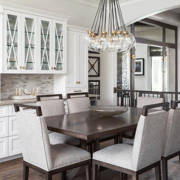 Overland Park Transitional Dining Room