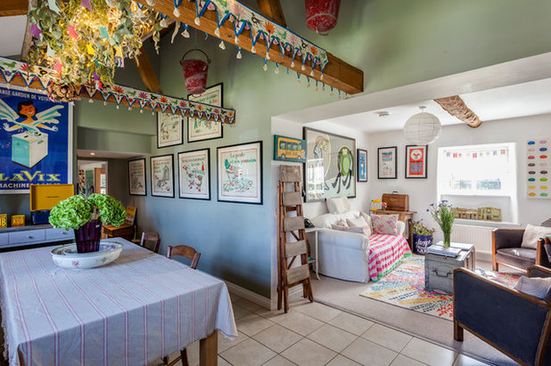 Eclectic Dining Room by Chris Snook