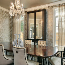 Traditional Dining Room by Oxford Development