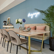 Are Coloured, Painted Feature Walls Making a Comeback?