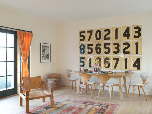Eclectic Dining Room by Hendricks Churchill