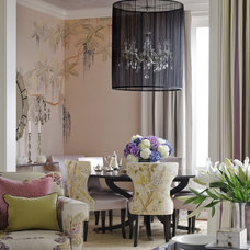 Traditional Dining Room by Kendall Wilkinson Design