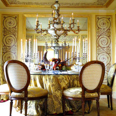 Traditional Dining Room by Eugene Anthony Design Group