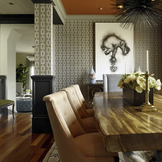Contemporary Dining Room by Jeffers Design Group
