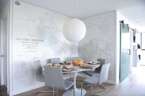 Scandinavian Dining Room by Oliver Simon Design