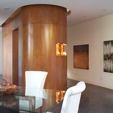 Contemporary Dining Room by Scrafano Architects