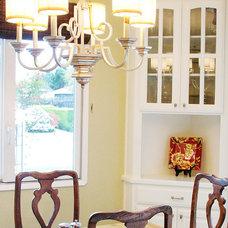 Traditional Dining Room by Jennifer Bishop Design