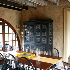 traditional dining room by pcw painted furniture