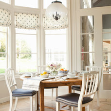 Transitional Dining Room by Jackson Paige Interiors, Inc.