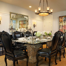 Traditional Dining Room by Brantley Photography