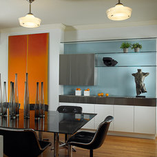 Contemporary Dining Room by Lorna Saunders Interiors