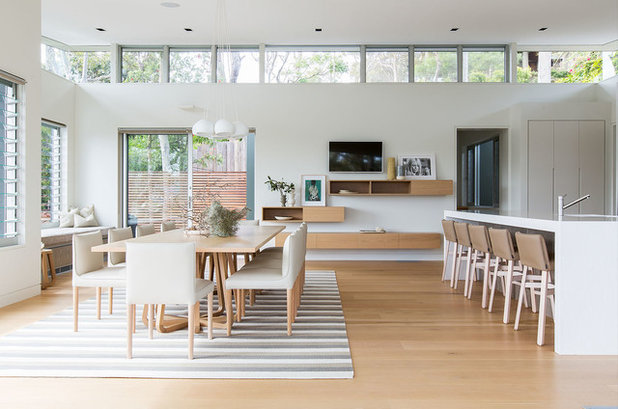 Beach Style Dining Room by Designers In The City