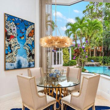 Palm Beach Tropical Paradise Glamor