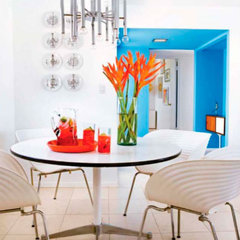 modern dining room by maison21