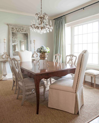 Traditional Dining Room by Cobblestone & Vine