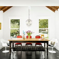 Contemporary Dining Room by Hugh Jefferson Randolph Architects