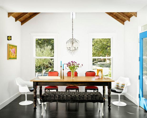 Contemporary Dining Room by Hugh Jefferson Randolph Architects