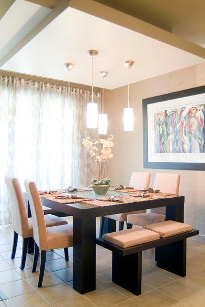 Contemporary Dining Room by Wanda Lozada Interior Designer