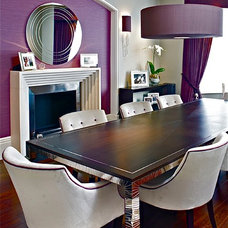 Contemporary Dining Room by FiSHER iD
