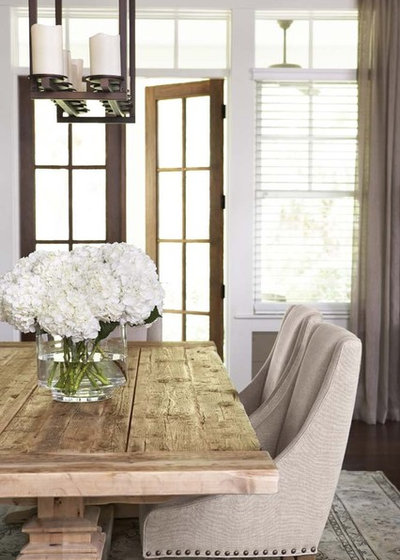 Traditional Dining Room by Linda McDougald Design   Postcard from Paris Home