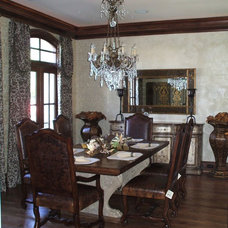Traditional Dining Room by Bunker Hill Design