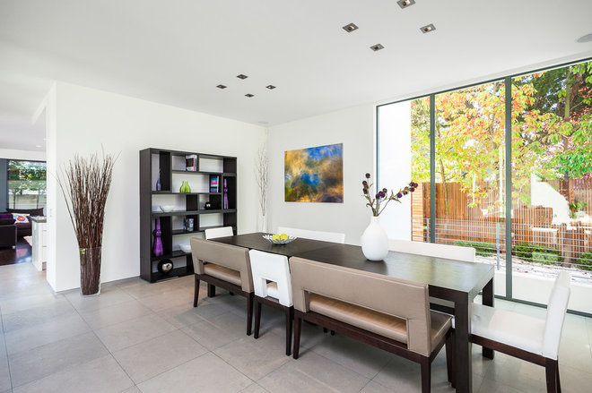 Contemporary Dining Room by Maydan Architects, Inc.