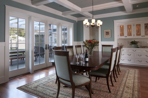 Craftsman Dining Room by FGY Architects