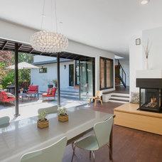 Midcentury Dining Room by Fiorella Design