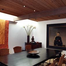 Asian Dining Room by Charlie Barnett Associates
