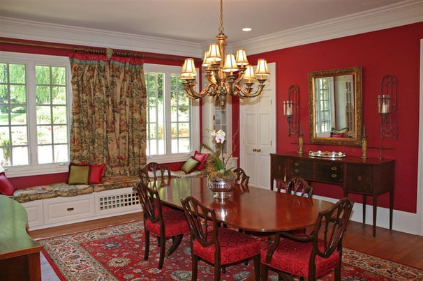 Traditional Dining Room by Pamela Foster & Associates, Inc.