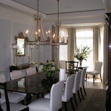traditional dining room by Schill Architecture LLC