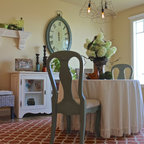 Santa Barbara Dutch Colonial - Beach Style - Dining Room - Other - by Kathryne Designs, Inc