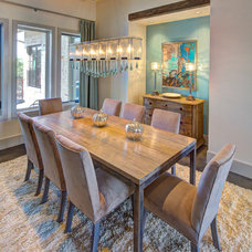 contemporary dining room by Robin Bond Interiors