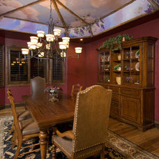Traditional Dining Room by Solid Rock Custom Homes