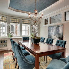 Contemporary Dining Room by Great Neighborhood Homes