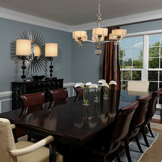 Traditional Dining Room by Kristin Drohan Collection and Interior Design