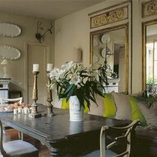 Eclectic Dining Room by Myra Hoefer Design