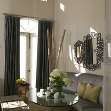 Eclectic Dining Room by Jane Ellison