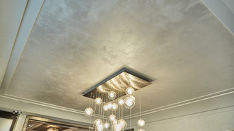 Park Ave Apartment | White Marble Dust Venetian Plaster
