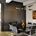 Silver Leaf Walls And Ceiling