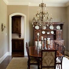 Traditional Dining Room by Robert Elliott Custom Homes