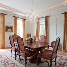 Traditional Dining Room by Zimmerman Interiors