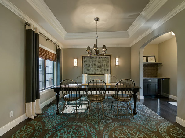 Traditional Dining Room by Lowery Design Group
