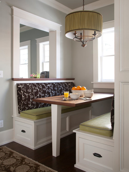 Kitchen Booth Design Ideas ~ Kitchen booth seating home design ideas renovations photos