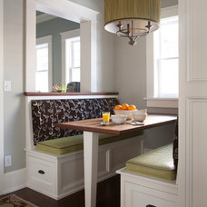Transitional Dining Room by company kd, llc.