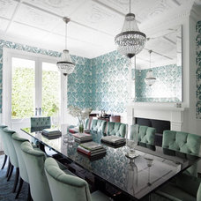 Traditional Dining Room by T01 Architecture & Interiors