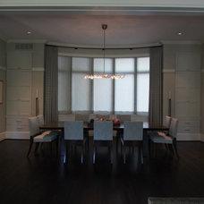 Contemporary Dining Room by Robert J. Neylan Architects, Ltd.